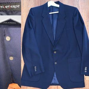 Vintage Yves Saint Laurent YSL Navy blazer 40R